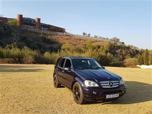 2005 Mercedes Benz ML 500