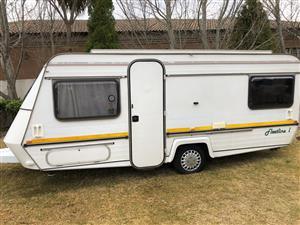 1991 fleetline l caravan for sale