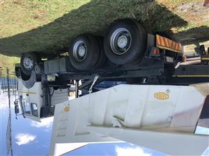 2014 Powerstar 10 cube tipper truck