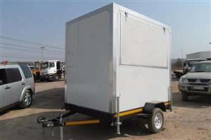 2.5m Food Trailer with Gas Cylinder