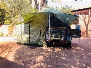 Desert wolf LEO Stainless steel Camping trailer