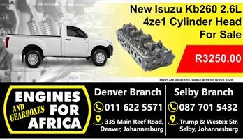Isuzu Kb260 2.6L 4ze1 Cylinder Head For Sale