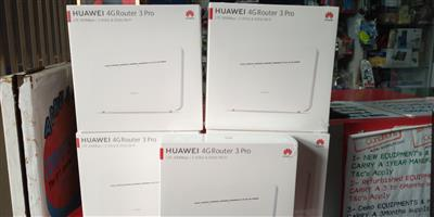 HUAWEI 4G Router 3 Pro, Dual Band Wi-Fi, SIM Card Router