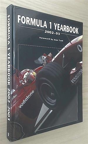 Formula 1 yearbook 2002 – 03.