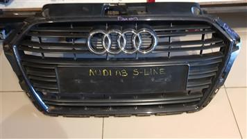 AUDI A3 S-LINE GRILL AVAILABLE