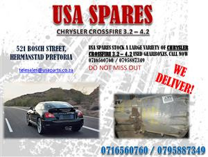 CHRYSLER CROSSFIRE 3.2, 4.2 GEARBOXES
