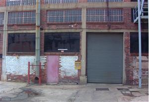 845m² Factory/Warehouse to let in the heart of Heriotdale.