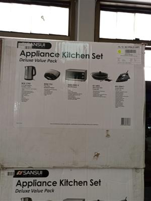 Appliance kitchen sets Value packs on auction