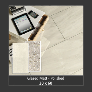 Tile : Glaze Matt - Polished
