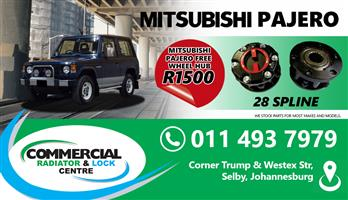 MITSUBISHI PAJERO FREE WHEEL HUBS FOR SALE