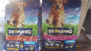 Dr Hahnz dog food for sale
