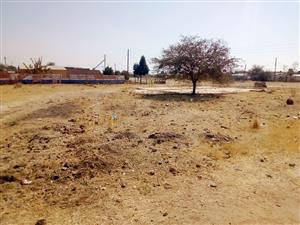commercial vacant land available for sale in mmotla hammanskrall 1786 Sgm title deed available