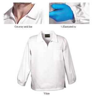 Barron Food Safety Jacket - White