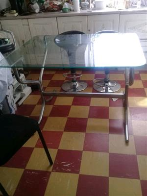 Glass 8 seater dinning table for sale for sale  Durban - Berea