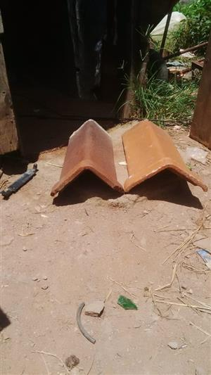 ROOF TILE RIDGING NEW AND SECOND HAND