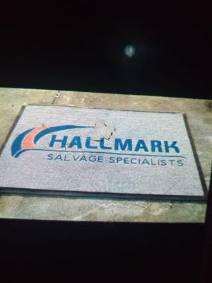 customised branded logo mats