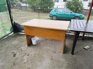 Light wooden desk for sale