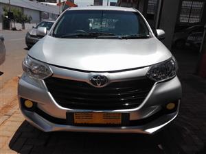 2016 Toyota Avanza AVANZA 1.3 SX