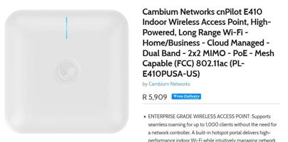 Bargain Indoor quality Wifi AP for large network