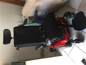 6wheeler mid-drive power wheelchair