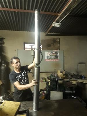 5.5kw 3phase borehole pump