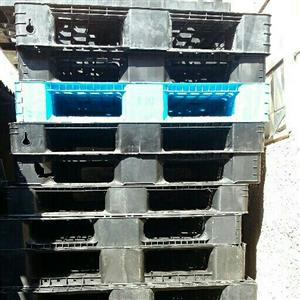 plastic pallets good for storage n other uses