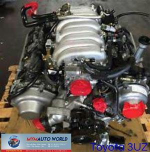 Imported used TOYOTA LEXUS 4.3L VVTI, 3UZ VVTI engine Complete