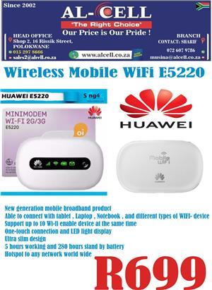Wireless Mobile Wi Fi Router