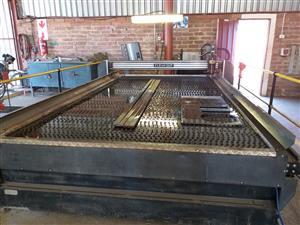 CNC clearcut machine