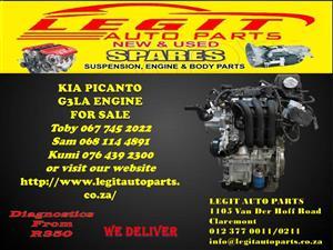 KIA PICANTO G3LA  ENGINE FOR SALE