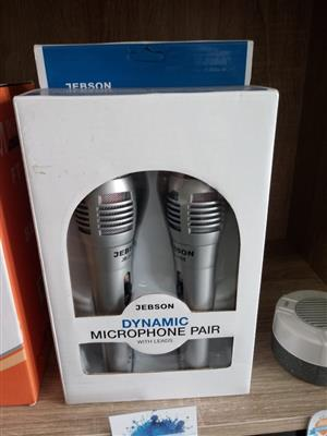 Best Seller: Jebson Microphones JB1158 Set of 2