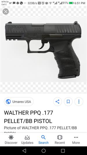 WALTER PPQ High Velocity Gas Gun