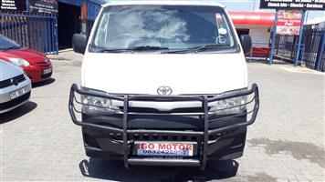 2013 Toyota Quantum 2.5D 4D LWB panel van
