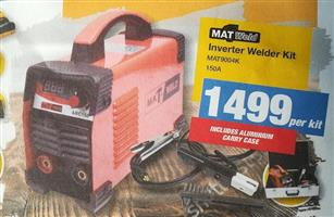Inverter Welder Kit 150A