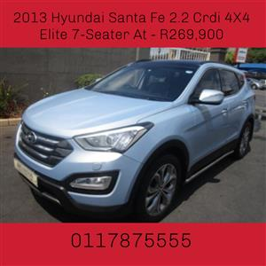 2013 Hyundai Santa FE Santa Fe 2.2CRDi 4WD Elite 7 seater
