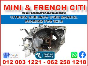 Citroen Berlingo used manual gearbox for sale