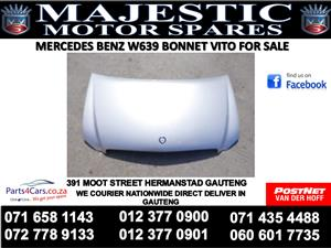Mercedes benz w639 bonnet for sale