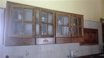 Kitchen unit, oak wood