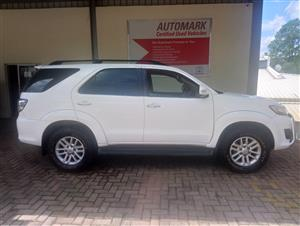 2011 Toyota Fortuner V6 4.0 4x4 automatic