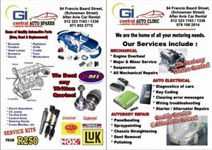 NEW AND USED AUTO PARTS
