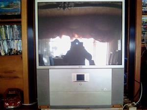 Lg rear projector tv