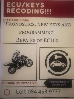 ECU repairs & reprogramming.