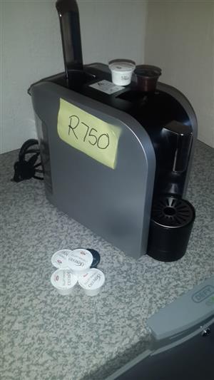 Espresto koffie capsule machine