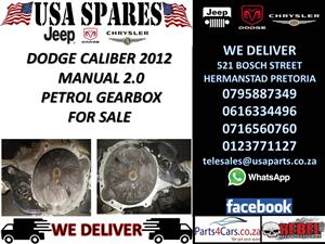 DODGE CALIBER 2.0 2012 MANUAL GEARBOX FOR SALE