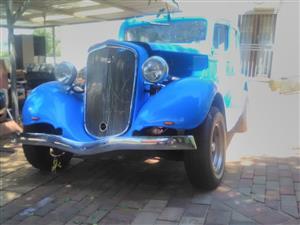 1934 chevrolet 4deur sedan