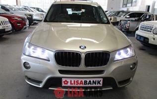 2012 BMW X3 xDrive20d Exclusive