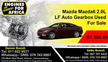 Mazda Mazda6 2.0L LF Auto Gearbox Used For Sale