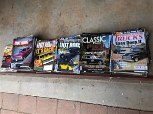Magazines for Sale Custom Classic Trucks / Classic Car / SA Hot Rods / USA Hot Rods / USA Trucking