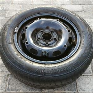 14 INCH COMBO. TYRE + RIM WITH TYRE + WHEEL CAP