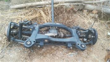 Bmw Complete rear suspension